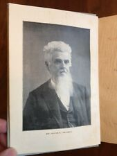 RARE 1903 Northeast GEORGIA Sermons, Cartledge, Presbyterian Minister, Religion