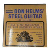 Don Helms' Steel Guitar All Time Favorites Vinyl LP