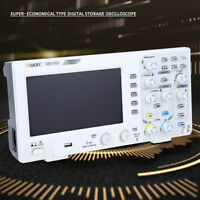 "7"" Digital Oscilloscope 2-Channel 100MHZ Bandwidth 1GS/s Oscilloscope HighQ GB"
