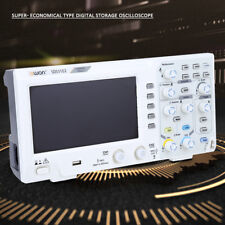 "7"" Digital Oscilloscope 2-Channel 100MHZ Bandwidth 1GS/s Oscilloscope HighQ"