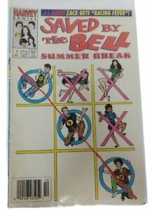 1992 Harvey Comics Saved By The Bell Issue #1 Summer Break Rare Book
