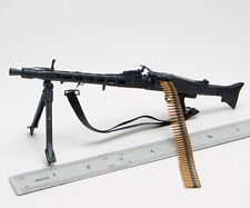 1/6 Scale Dragon Gun Weapon WWII German MG-42  Model Toys For 12'' Action Figure