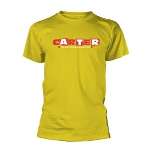 CARTER USM LOGO (YELLOW) by CARTER THE UNSTOPPABLE SEX MACHINE T-Shirt