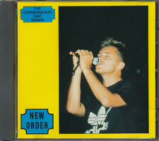 New Order Conversation Disc Series RARE out of print import picture CD '88