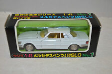 KK Sakura 1/43 vintage No.1 Mercedes Benz 450 SLC White 99% mint in box