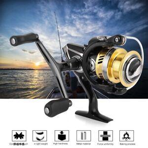 DEUKIO 7.1:1 Metal Spools Spinning Fishing Reel 5+1BB Wheels Salt Freshwater Hot