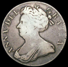 More details for 1707 queen anne silver crown spink 3601 esc 104 bull 1344
