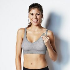 Bravado Design Maternity Body silk Seamless Sz XL Gray Bra $49
