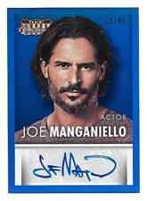 JOE MANGANIELLO 2015 Panini Americana BLUE Signatures AUTOGRAPH 12/49