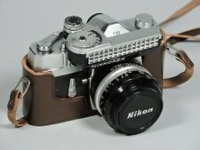 Nikon NIKKOREX F 35mm Film Camera With Nikkor 50mm f1.4  Lens & Exposure Meter