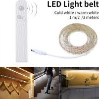 LED PIR Motion Sensor Strip Bar Light Lamps For Kitchen Cabinet Cupboard Counter