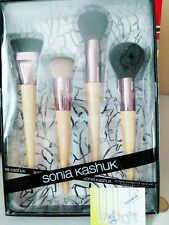 SONIA KASHUK Simply Complete Face 4 Piece Brush Set - Contour Highlight Powder