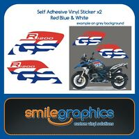 BMW R1200GS Rallye 2017 2018 - Tank Fairing Decals Stickers