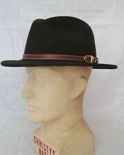Failsworth Adventurer, Men's Wool Felt Fedora, Olive Green M. Country Classic.