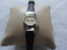 Coca Cola Quartz Ladies Watch with a Black Band