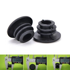 3Pair Cycle Road MTB Bike Handlebar End Lock-On Plugs Bar Grips Caps Covers MW