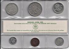 Zweden Unc-set 1976 (6 coins)