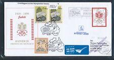 09630) Lauda Olympiade So-LP Wien - Sydney 15.9.2000, Brief ab Monaco
