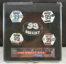 Upper Deck Authenticated Wayne Gretzky The Great One Pin Set LIMITED EDITION & #