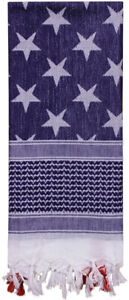 Stars & Stripes Tactical Shemagh Army Arab Desert Scarf American US Flag Pattern