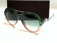 Authentic FENDI FF0322G/S IWB/9K Green Peach/Green Gradient Lens Sunglasses