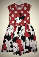 Brand New Disney Minnie Mouse Girls Sleeveless Dress. Age 2-3 Years