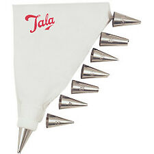 Tala 10a09924 Icing Bag Set With 8 Nozzles