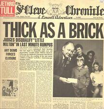 Jethro Tull – Thick como a Brick - Crisálida – Chr 1003 12 Página Lona Tienda