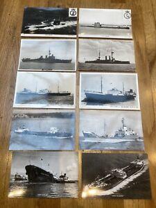 POSTCARD Job Lot - ships/shipping/navy - HM Submarines  HMS Prince Of Wales