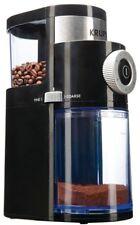 Krups Flat Burr Coffee Grinder Programmable 9-Grind Levels Cups Selector (2-12)