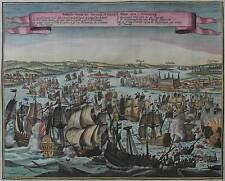 Seeschlacht im Öresund 1658 - Battaglia Navale - Original von Gerard Bouttats