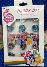 1box 28pcs Cute my little pony new popular Fancy Ring in Box kids gifts