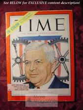 TIME Magazine June 1 1953 Jun 6/1/53 DEFENSE SECRETARY CHARLES ERWIN WILSON