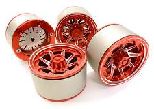 C26618RED Integy 2.2 Size Billet Alloy 8D Spoke Wheel(4)High Mass for Crawler