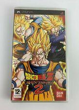 PSP Dragon Ball Z Shin Budokai 2 (2007), UK Pal, Brand New & Factory Sealed