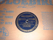 """78RPM Bluebird 7567 """"Hot Lips"""" Page, I Let a Song Go Out of M, Rock It For Me VG"""