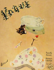 Vintage Art Deco - Vogue - Poster/Art Print - 'Fashion' 17x22 1935 Reproduction