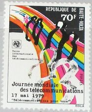 UPPER VOLTA OBERVOLTA 1979 749 495 11th Telecommunication Day ITU UIT MNH