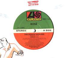 "12"" - Miguel Bosè - The Eighth Wonder RMXS PROMO LISTEN"