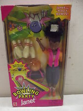 Vintage Mattel Bowling Party Janet Barbie'S Aa Friend