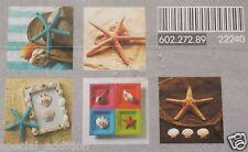 "IKEA Kortebo Starfish PRINT 5 ART CARD PACK 10 X15 CM 4""x 6"""