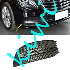 For Mercedes-Benz W222 S320-S450 Right Side Front Fog Lamp Grill Cover ABS Black