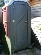 BUILDERS *NEW PORTABLE CHEMICAL FIBRE GLASS TOILET VAT INCLUDED SITE LOO