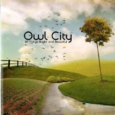"""OWL CITY """"ALL THINGS BRIGHT AND BEAUTIFUL"""" CD  NEW+"""