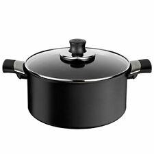 Tefal Talent Pro non-stick aluminium saucepan with lid, diam. 20cm, Black,