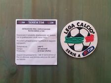 patch toppa badge logo SERIE A TIM 2009 2010 LEGA CALCIO 2009/10 gommina 2008/07