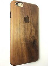 GUITAR WOOD IPHONE ( 6/6S PLUS 5.5 ) CASE REAL WALNUT WOOD HAND MADE COVER