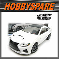 NEW TEAM ASSOCIATED APEX 1:10 LEXUS RCF WHITE BRUSHLESS AWD RC CAR ONROAD RTR