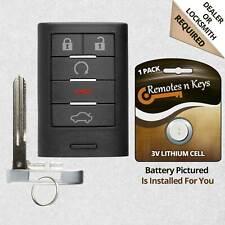 Car Key Fob Alarm Transmitter Remote For 2008 2009 2010 2011 Cadillac STS