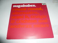 "SUGABABES - Round Round - 2002 UK 4-track 12"" Vinyl SIngle"